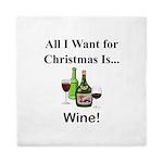 Christmas Wine Queen Duvet