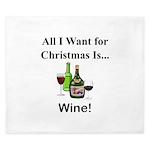 Christmas Wine King Duvet