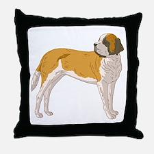 St. Bernard Throw Pillow