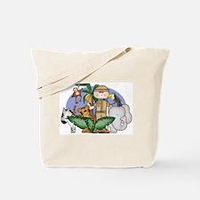 Jungle Safari Boy Tote Bag