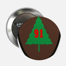 """91st Infantry Division.png 2.25"""" Button (10 pack)"""
