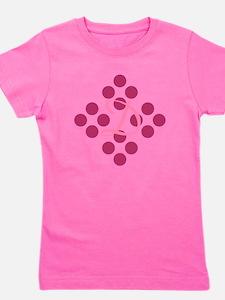 Pretty Pink Polka Dots Girl's Tee