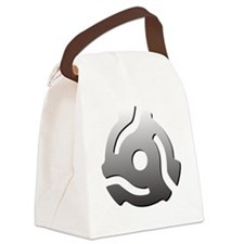 I 45 RPM Adapt Music Canvas Lunch Bag