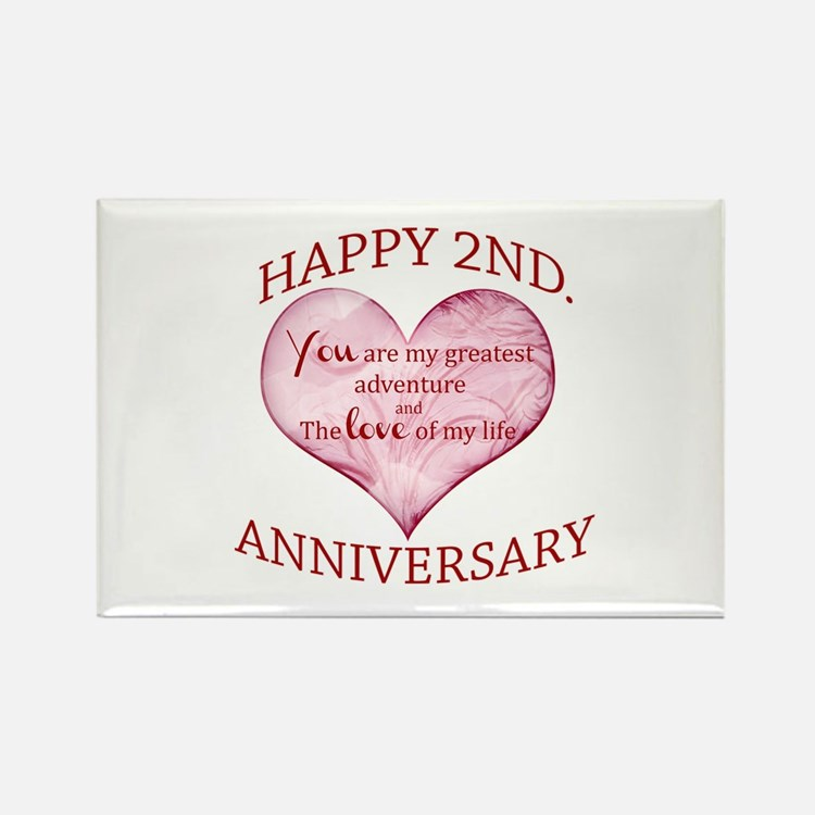 Nd anniversary magnets