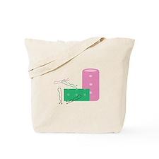 Hair Curlers Tote Bag