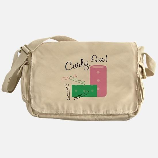 Curly Sue Messenger Bag