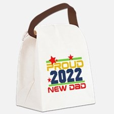 2017 Proud New Dad Canvas Lunch Bag