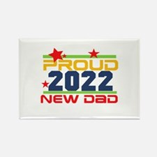 2017 Proud New Dad Rectangle Magnet