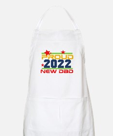 2017 Proud New Dad Light Apron
