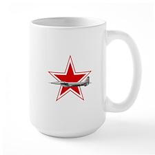 URSS-Russian_aviation_red_star_svg Mugs