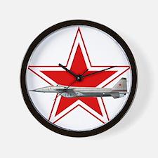 URSS-Russian_aviation_red_star_svg.png Wall Clock