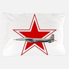 URSS-Russian_aviation_red_star_svg.png Pillow Case