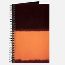 ROTHKO BROWN AND PEACH Journal