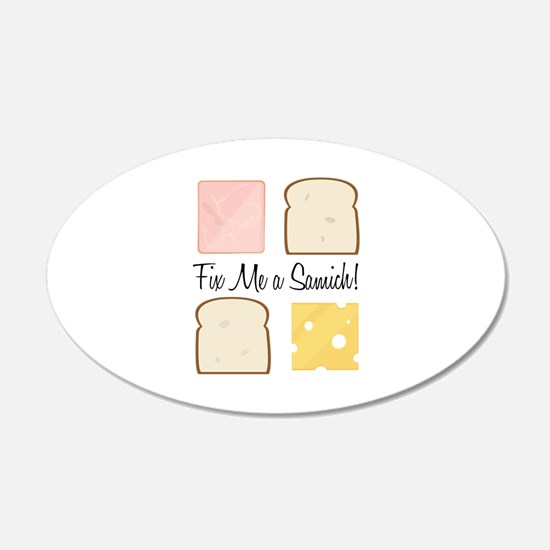 Fix A Samich Wall Decal