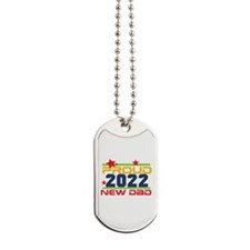 2015 Proud New Dad Dog Tags