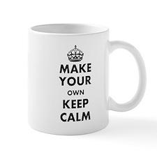 Make Your Own Keep Calm and Carry On De Mug