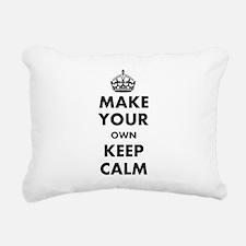Make Your Own Keep Calm Rectangular Canvas Pillow