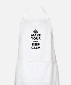 Make Your Own Keep Calm and Carry On Design Apron