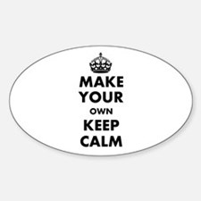 Make Your Own Keep Calm and Carry O Decal