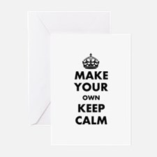Make Your Own Keep Calm Greeting Cards (Pk of 10)