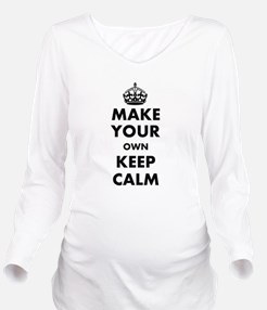Make Your Own Keep C Long Sleeve Maternity T-Shirt
