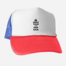Make Your Own Keep Calm and Carry On D Trucker Hat