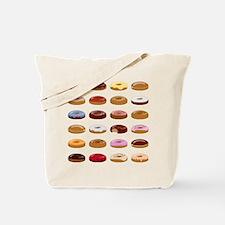 Many Donuts Tote Bag