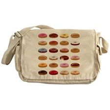 Many Donuts Messenger Bag
