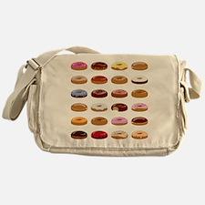 Many Donuts Messenger Bag