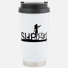 Cute Surf girl Travel Mug