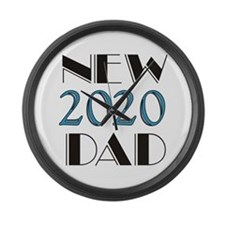 2015 New Dad Large Wall Clock