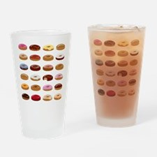 Many Donuts Drinking Glass