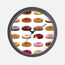 Many Donuts Wall Clock