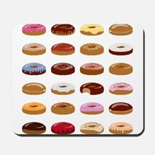 Many Donuts Mousepad