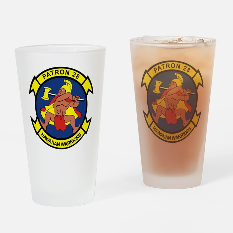 vp28_hawaiian_warriors.png Drinking Glass