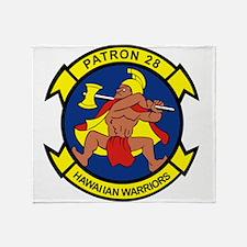 vp28_hawaiian_warriors.png Throw Blanket
