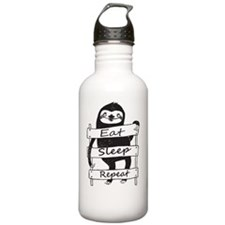 funny sloth Water Bottle