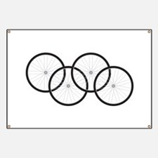 Bicycle Wheels Banner