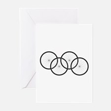 Bicycle Wheels Greeting Cards