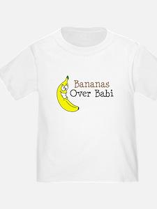 Bananas Over Babi T-Shirt