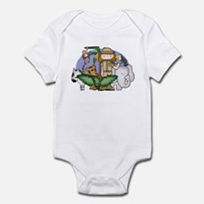 Jungle Safari Girl Infant Bodysuit