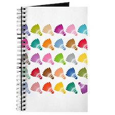 Colorful BadmintonShuttles Journal
