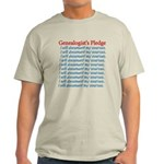 Genealogist's Pledge Light T-Shirt