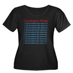 Genealogist's Pledge Women's Plus Size Scoop Neck
