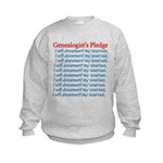 Genealogist's Pledge Kids Sweatshirt