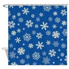 Unique Fun christmas Shower Curtain