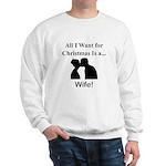 Christmas Wife Sweatshirt