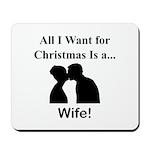 Christmas Wife Mousepad