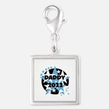 Stars Daddy 2016 Silver Square Charm