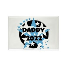 Stars Daddy 2015 Rectangle Magnet